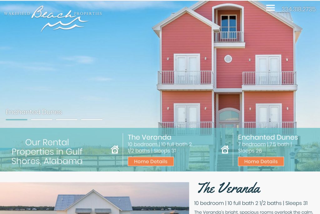 Wakefield Beach Properties